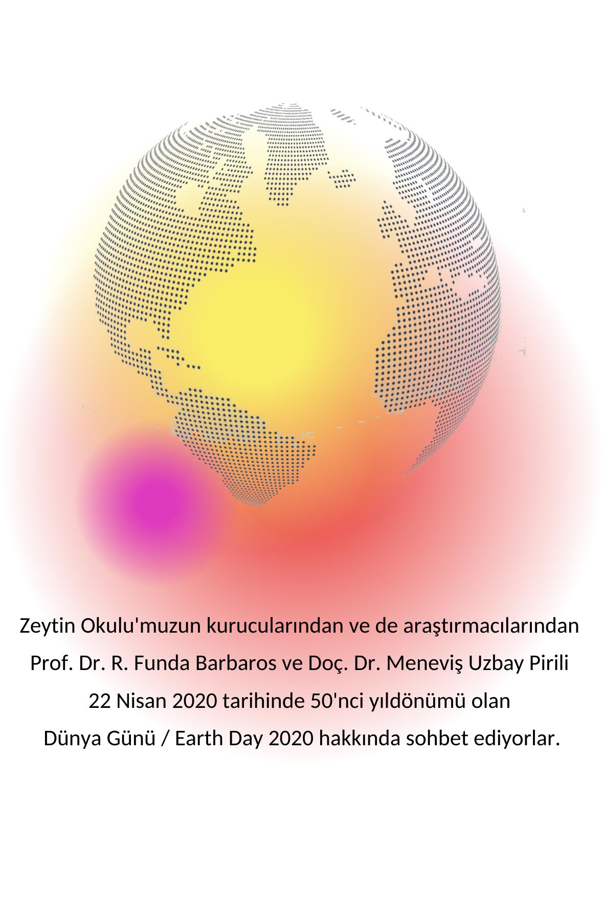 Funda Hoca ile Meneviş Hocanın sohbetlerini izah eden afiş görseli